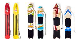 Snurfer, snowboarding, winter fun, snow, winter, family fun, backyard, snow surf,