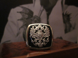Elvis Presley's famous Russian Tsar crest ring - a gift from his father