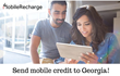 Georgians Worldwide Can Easily Top Up Mobiles in Georgia with MobileRecharge.com Starting September 2015