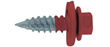 Red pole barn screws from FastenersPlus.com