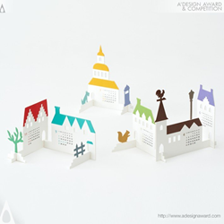 "Calendar 2015 ""Town"" by Katsumi Tamura"