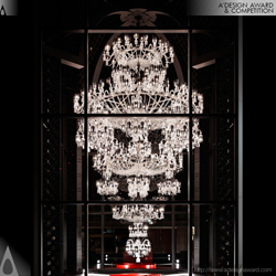 Baccarat 250th anniversary chandelier by Yasumichi Morita
