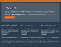 RASON Analytics REST API - Rason.com