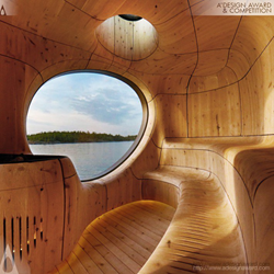 Grotto Sauna by Partisan Projects
