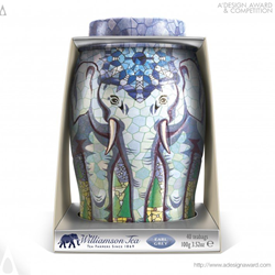 Williamson Tea Elephant Caddies by Springetts Brand Design Consultants