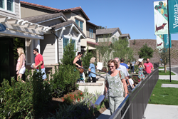 Approximately 10,000 homeshoppers attended the grand opening celebration for the 12 brand-new neighborhoods at Esencia, situated atop some of the highest elevations on Rancho Mission Viejo, a 23,000-acre ranch in scenic South Orange County, CA