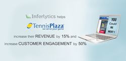 Inferlytics helps Tennis Plaza increase their online search revenue by 15% and customer engagement by 50%