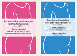 Connie Livingston books for the Birth Professional