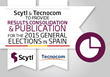 Scytl and Tecnocom to Provide Results Consolidation and Publication for Spain's 2015 General Elections