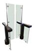 Fastlane Glassgate 300 full-height turnstile entry security