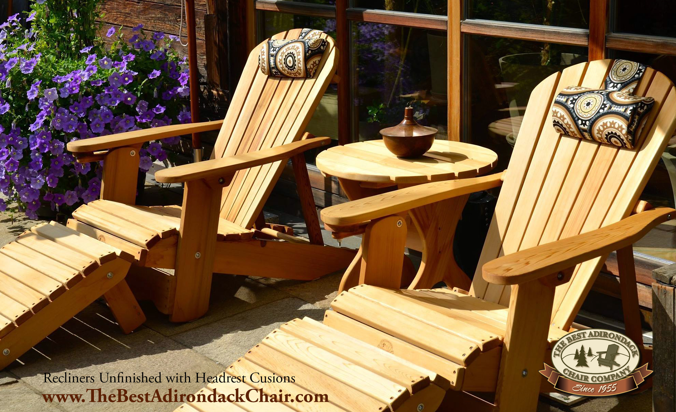 the best adirondack chair company launches new 4 position reclining adirondack chair. Black Bedroom Furniture Sets. Home Design Ideas