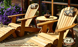4 Position Reclining Adirondack Chair