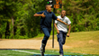 Optional 40-Yard Dash with Timing System promotes fun, friendly competition.