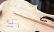 Heil Hitler violin, courtesy of Amnon & Avshalom Weinstein