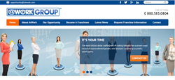 AtWork Group New Franchise Website