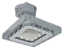 Class 1 Division 1 & 2 LED Light Fixture for Ceiling Mount Applications