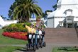 Golden Gate Park Segway Tour in front of the Conservatory of Flowers.