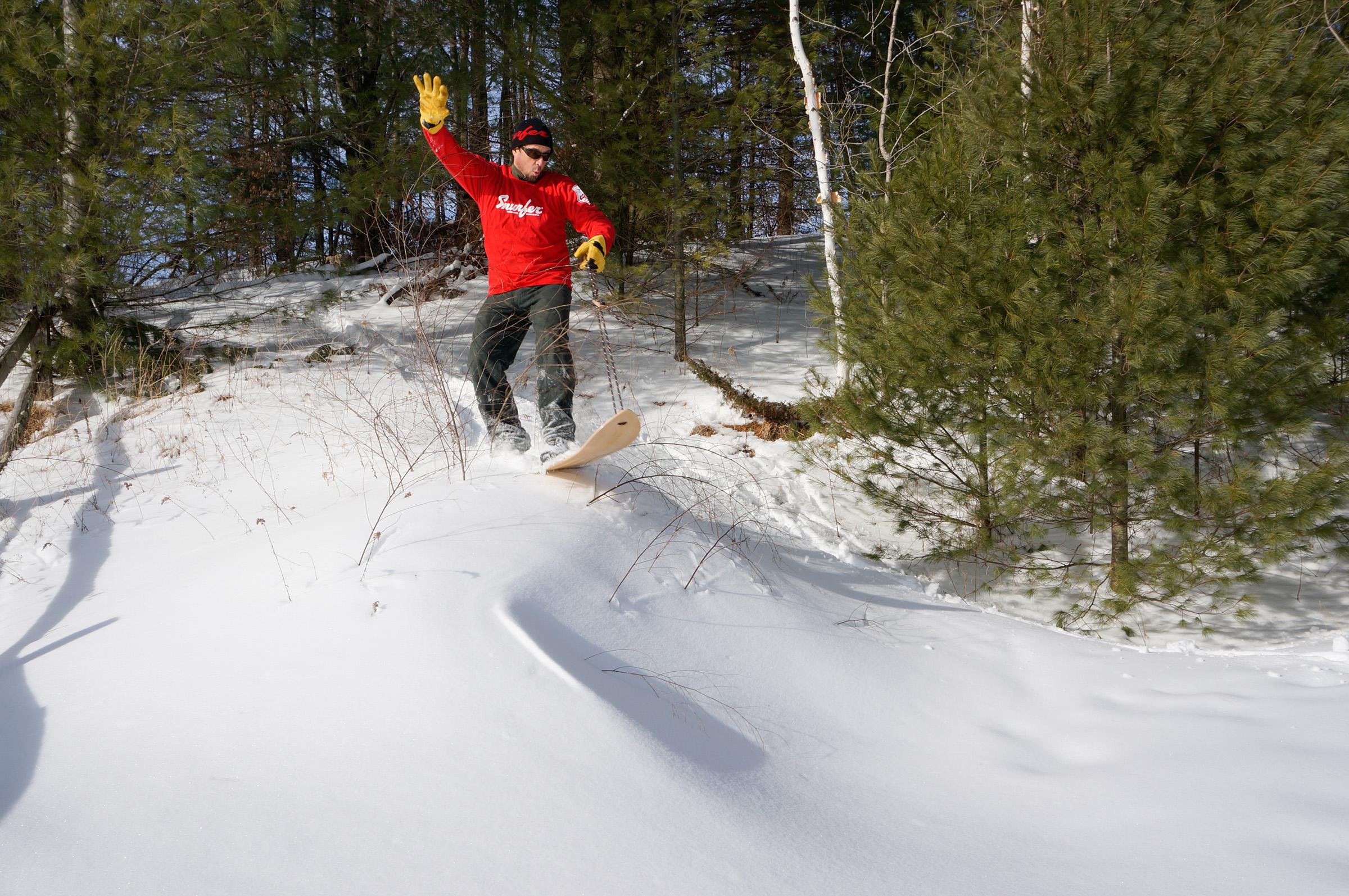 snurfer boards the original snow surfer offers everyone more fun