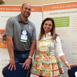 Julie & Tony Bombacino of Real Food Blends; makers of 100% Real Food Meals for People with Feeding Tubes.
