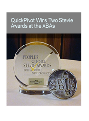 QuickPivot Wins at the 2015 Stevie Awards