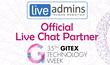 LiveAdmins Becomes Official Live Chat Partner for GITEX 2015