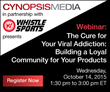 Cynopsis Sports Webinar on October 14  – Beyond Viral Addiction: Building a Loyal Community for Your Products