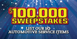 Cottman Transmission and Total Auto Care To Launch $100,000 Sweepstakes