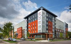 student housing, Minneapolis, USL
