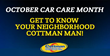 "Get To Know Your Neighborhood ""Cottman Man"" Just In Time for October Car Care Month"