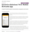 New Incentive Solutions Mobile Technology Featured in Incentives Magazine
