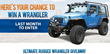4WD Bestop Ultimate Rugged Wrangler Giveaway ARB bumpers
