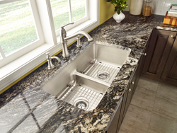 Moen Combines the Best of Both Worlds with New Low-Profile Divide...