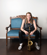 Alto saxophonist/composer Caroline Davis. (Photo: Kelly Fleming.)