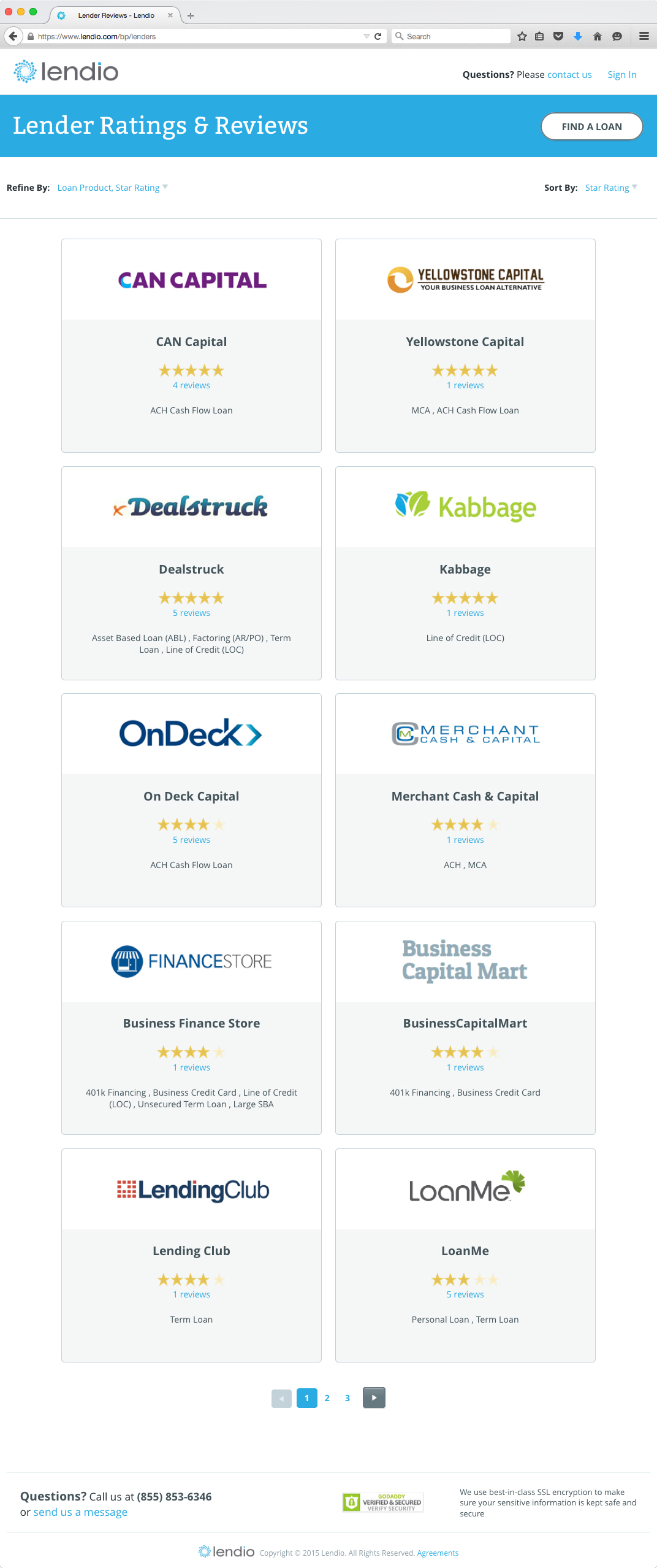 Lendio Launches Lender Ratings & Reviews and Business Loan Calculators to Provide Borrowers with ...