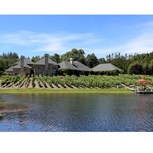 Private lake sonoma wine country estate listed for sale for Private estates for sale