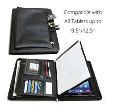 Business Leather Portfolio for iPad Pro