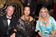 H.H. Prince Waldemar Schaumburg-Lippe, Sue Wong and H.H. Dr. Princess Antonia Schaumburg-Lippe