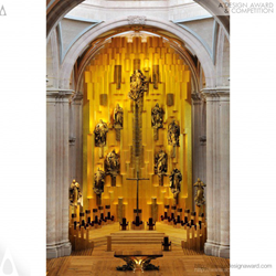 High Altarpiece Zacatecas Cathedral by Claudio Gantous