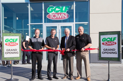 Golf Town Markham Grand Opening Ceremony