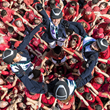 Benvinguts! Human tower builders welcome Furusiyya FEI Nations Cup™ Jumping Final to Barcelona