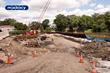 Mabey Provides Interlocking Temporary Roadway for Sunset Avenue Bridge Project