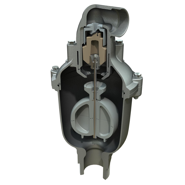 Combination Air Valve For Sewage Dezurik Apco Single