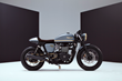 Custom Is King: Bunker Custom Cycles' Triumph Bonneville Cafe Racer Made With British Customs Upgrades