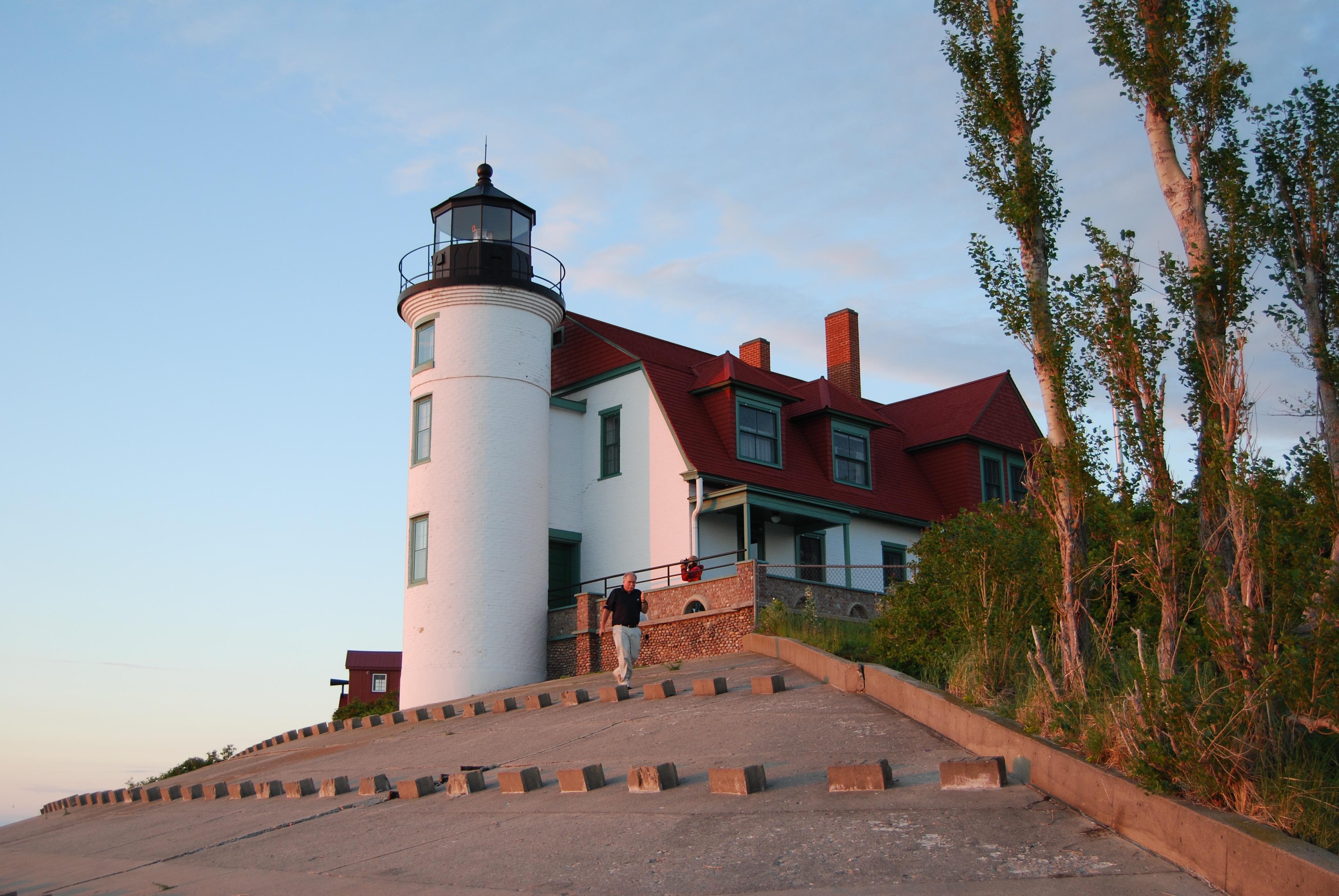 Michigan benzie county benzonia - Point Betsie Lighthouse