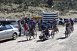 A team arrives at the finish line for the Adventure Team Challenge Colorado.
