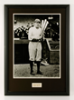 Photo of Babe Ruth with Autograph