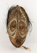 Papua New Guinean Mask with Feathers