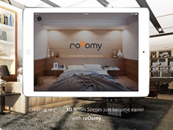 Design a New or Existing Space with 3D Rendered Images on roOomy