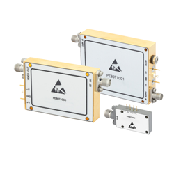 Threshold Detectors Covering Microwave and Millimeter Wave Frequencies from 2 to 40 GHz