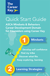 ASCA Mindsets and Behaviors Covered by Career Key Test